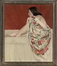the rose shawl by nikolai leykin