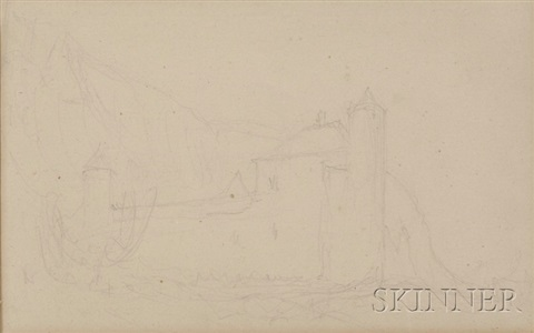 view of a northern alps landscape by john ruskin