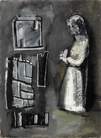 composizione con figura by mario sironi
