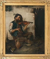 the violin player by continental school (19)