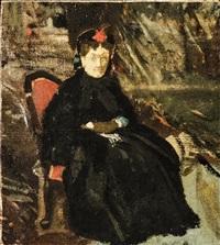 ritratto della marchesa vettori - portrait of the marchesa vettori by giovanni boldini