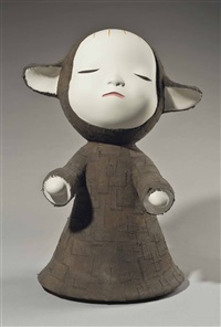 the little pilgrim (night walking) by yoshitomo nara