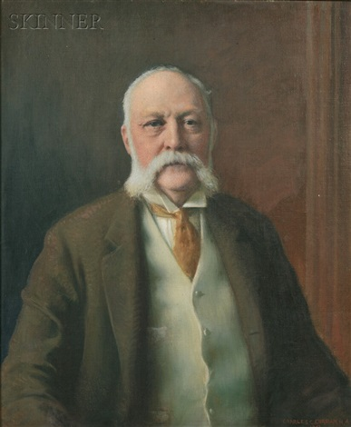 portrait of adelbert clark tuttle 1847 1914 by charles courtney curran