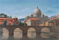 stadtansicht rom by yacov gabay