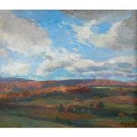 cloud study by albert lorey groll