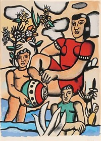 figure composition by fernand léger