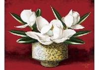 magnolia grandiflora by misao kono