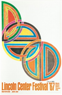 lincoln center festival '67 by frank stella