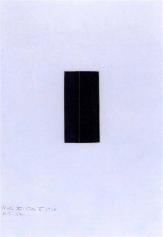 note xi by barnett newman