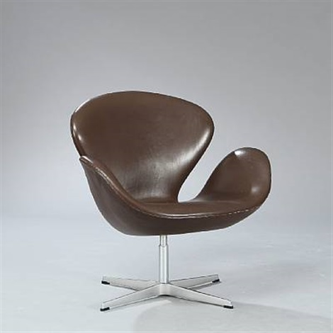 swan chair model 3320 by arne jacobsen