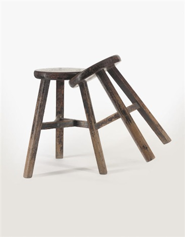 untitled stool (+ another; 2 works) by ai weiwei