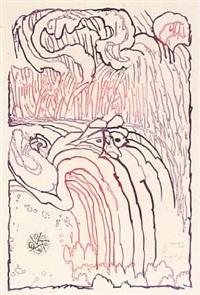 chute libre by pierre alechinsky