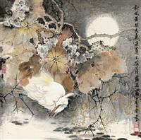 egrets by shi yu