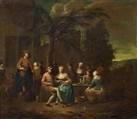 zechende gesellschaften (2 works) by jan baptist lambrechts