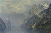 fjordlandschaft by e. arfolk