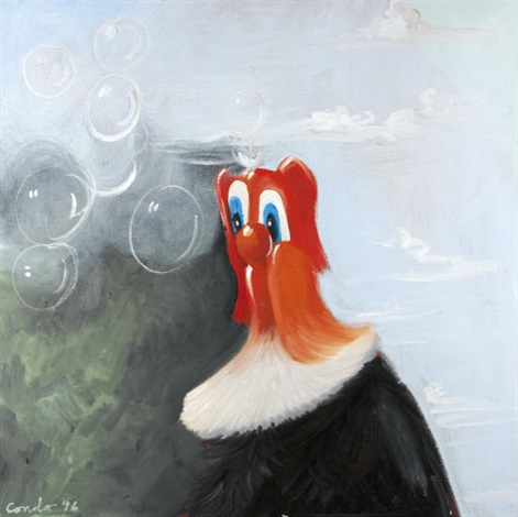big red by george condo