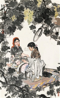 lady by wu qifeng and sun hengju
