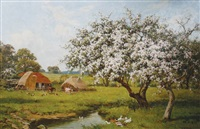blossom trees by edward wilkins waite