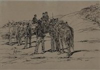 soldiers by giovanni fattori