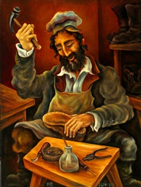 the shoemaker by shaked reznikov