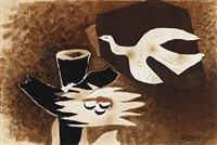 l'oiseau et son nid by georges braque