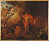scena mitologica by jacopo amigoni