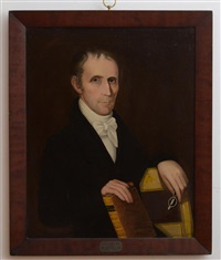 portrait of david r. arnell, m.d. by ammi phillips