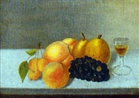 still life of fruit by maria roth gangle