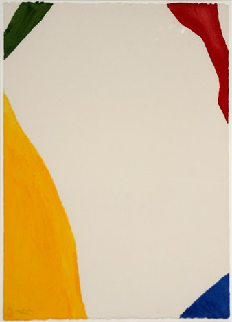 wind directions by helen frankenthaler