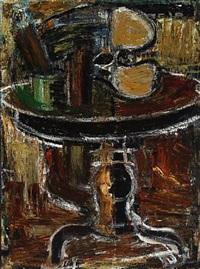 still life on table by mogens andersen