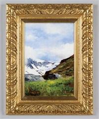 paesaggio montano by domenico rabioglio