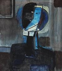 woman's portrait by mogens andersen