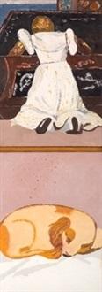 la criada de la venus de urbino by eduardo arroyo