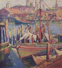 gloucester harbor by clara l. deike