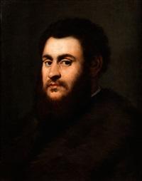 bildnis eines bärtigen mannes by jacopo robusti tintoretto