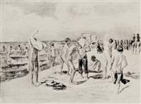 badende knaben by max liebermann