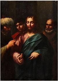 christus zwischen gelehrten by italian school-ferrara (17)