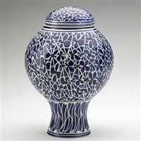 covered jar by ralph bacerra