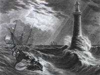meeressturm und leuchtturm by victor (count) odeschalchi