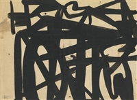 ink drawing by franz kline