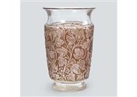 vase : deauville by rené lalique