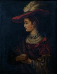 portrait of a lady by tom lieber