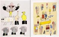 menneskelige udtryksformer og relationer (2 works) by peter lautrop