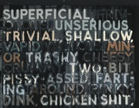 superficial by mel bochner