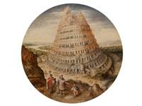 turmbau zu babel by lucas van valkenborch