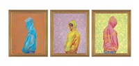 fool's gold (triptych) by kehinde wiley