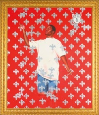 passing/posing: series #2 by kehinde wiley