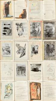 zehn reproduktionen und zwei original-zeichnungen (bk w/2 works) by gerhard (gerhard ströch) altenbourg