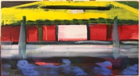 yellow cab by rainer fetting