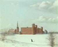 frederiksborg slot efter branden 17. december 1859 by jørgen andersen